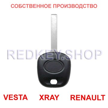 Чип-ключ VESTA, стиль Тойота