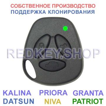 Пульт ДУ ВАЗ-УАЗ, стиль ВАЗ, резиновые кнопки