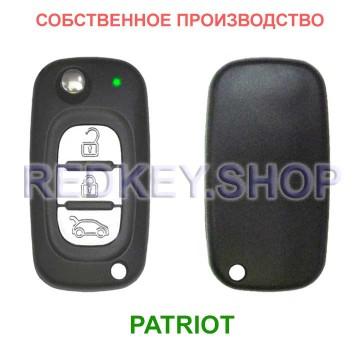 Выкидной ключ PATRIOT, стиль Рено