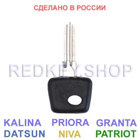 Заготовка ключа ВАЗ-УАЗ, без места под чип