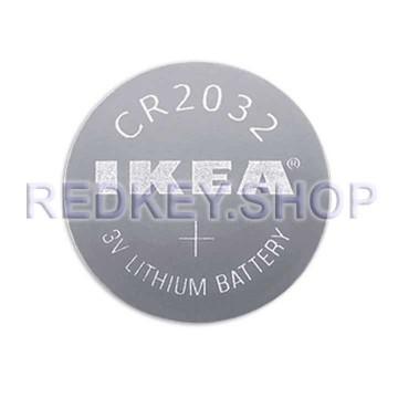 Литиевая батарейка CR2032 IKEA